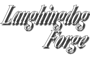 laughing dog forge logo for Laughingdogforge.com